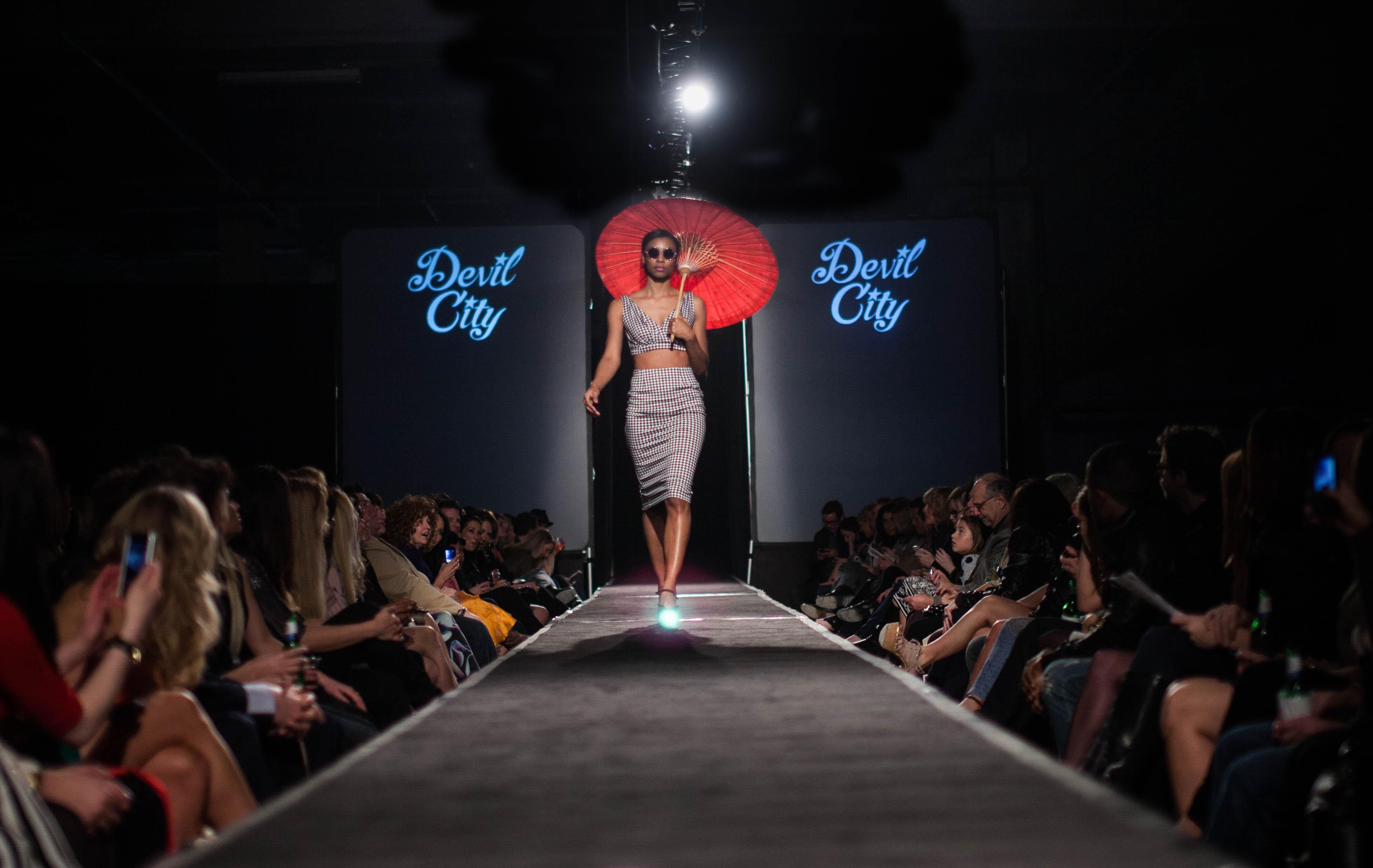 Devil City at the 2013 STL Glow Fashion Show